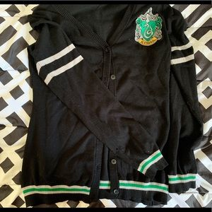 Slytherin Button Up Cardigan